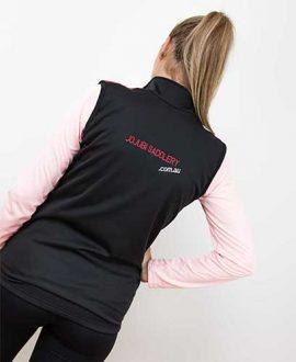 soft shell vest back jojubi saddlery