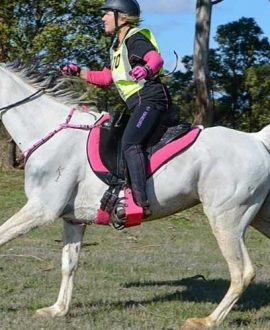 australian made compression horse riding tights horse back riding left side performa ride