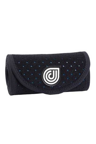 coolcore black ice and compression six inch horse wrap rolled up