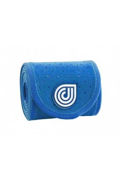 coolcore blue ice and compression four inch horse wrap rolled up