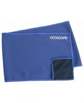 coolcore chill sports towel blue