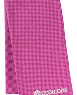 coolcore chill sports towel pink