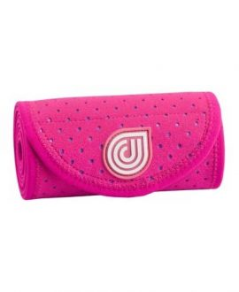 coolcore pink ice and compression six inch horse wrap rolled up