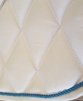 jojubi saddlery white saddle pad 1