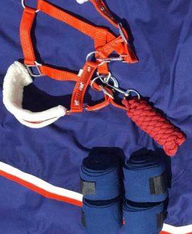 horse polo bandages navy jojubi saddlery