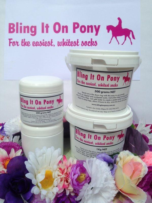 bling it on pony 1