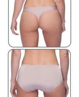qlinn seamless sports underwear back