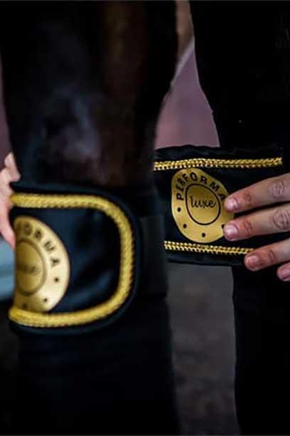 performa luxe horse polo wraps