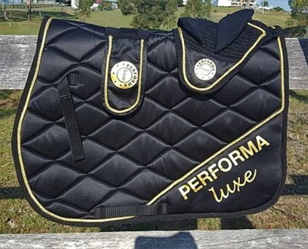 performa luxe horse saddle pad
