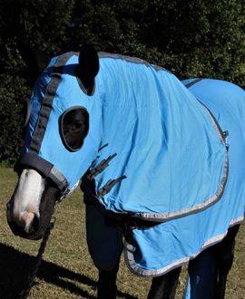 horse show set sky blue jojubi saddlery front left