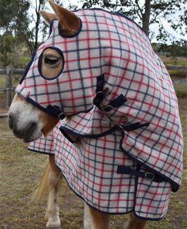 jojubi horse wool set rug
