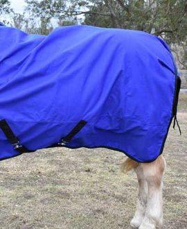 winter waterproof horse wug left side back jojubi saddlery