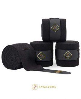 kavallerie classic horse bandages black