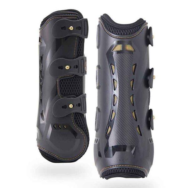 kavallerie pro k 3d air mesh tendon boots black 800