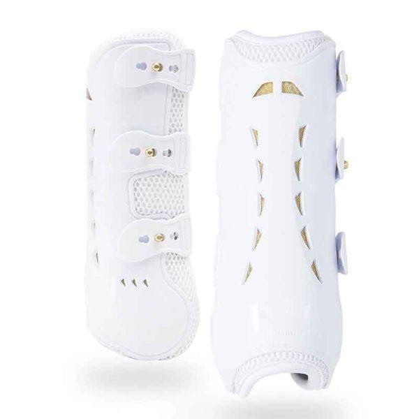 kavallerie pro k 3d air mesh tendon boots white 800