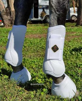 kavallerie pro k soft no turn bell horse boot back right