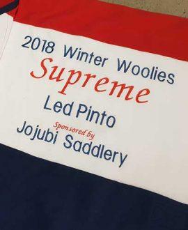 horse rug embroidery winter woolies supreme led pinto 2018