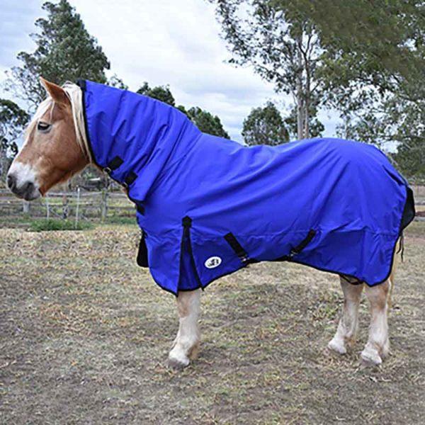 1200d winter combo horse rug with 100 fill left side jojubi saddlery 800