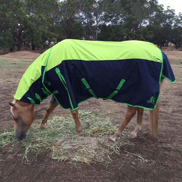 900d rain sheet horse combo left side jojubi saddlery 800