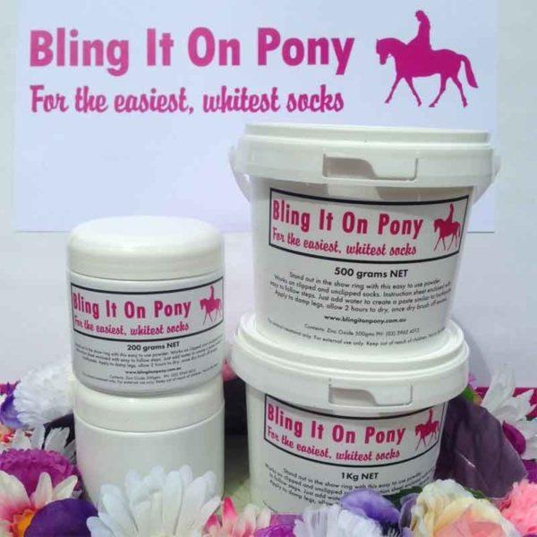 bling it on pony 800