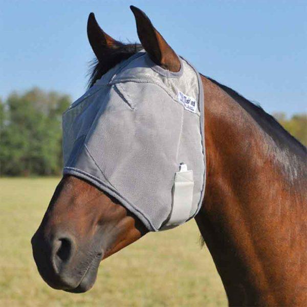 cashel crusader horse fly mask standard 800