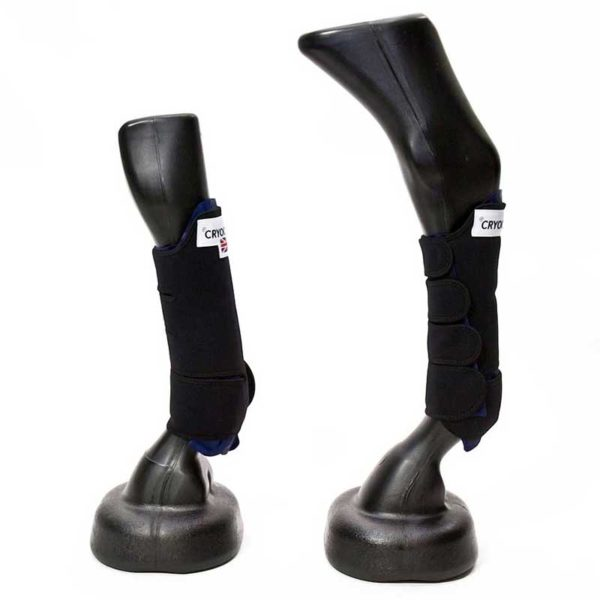 cryochaps horse ice boots front and back left side 800