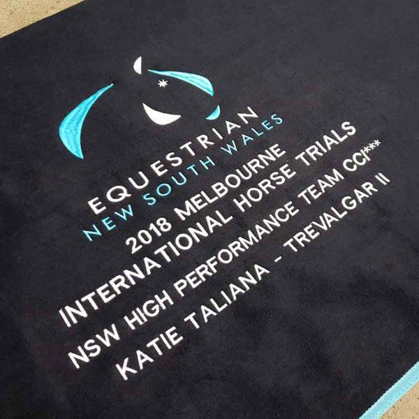 embroidery horse rug equestrian nsw jojubi saddlery 800