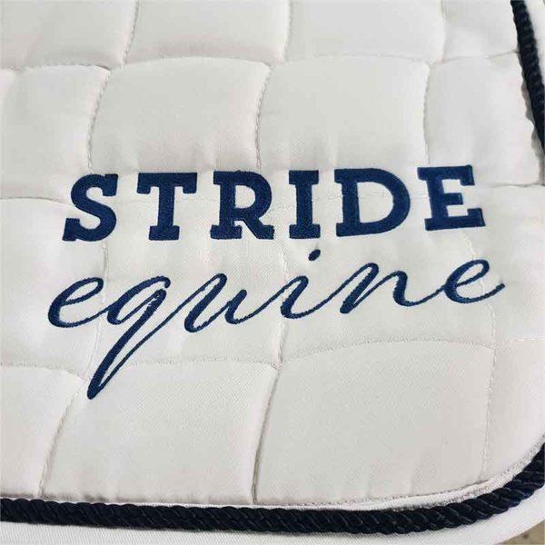embroidery saddle pad stride equine jojubi saddlery 800