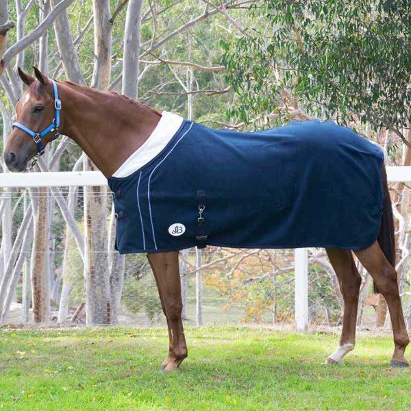 fleece horse rug double bonded left side jojubi saddlery 800