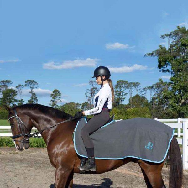 horse quarter sheet grey left jojubi saddlery 800