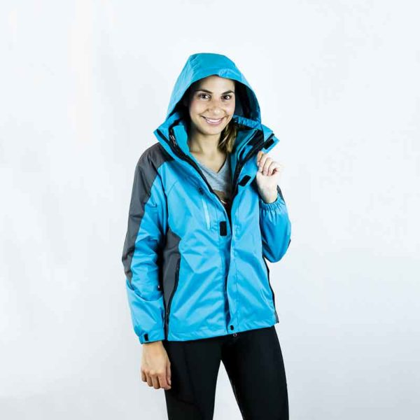 horse riding jacket 3 in 1 aqua front performa ride 800