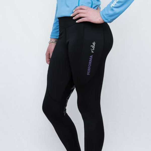 horse riding tights balmain thermal winter left front performa ride 800