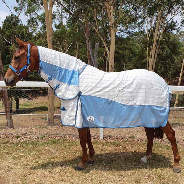 hybrid rip stop mesh combo horse rug left side jojubi saddlery 800