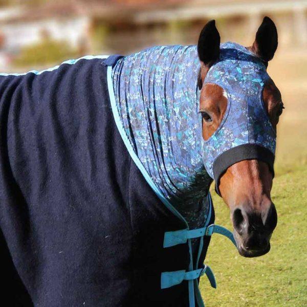 lycra horse hood jojubi saddlery 800