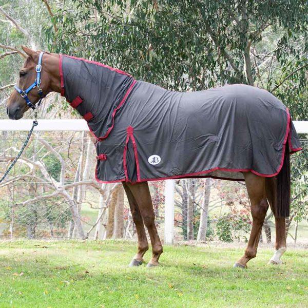 micro mesh horse rug combo left side 2 jojubi saddlery 800