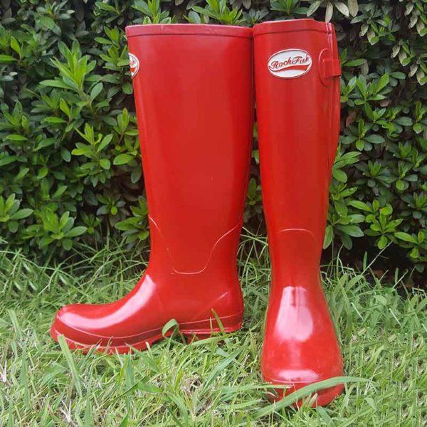 rockfish tall wellington boot red jojubi saddlery 800