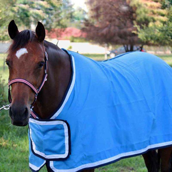 tab front trophy horse rug sky blue front side jojubi saddlery 800