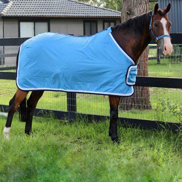 tab front trophy horse rug sky blue right side jojubi saddlery 800