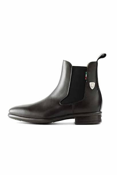 tattini alano black jodhpur boot side 1