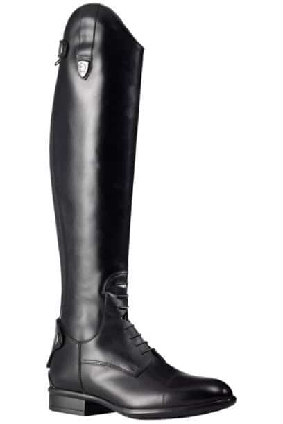 tattini boxer laced long tall horse riding boots right side