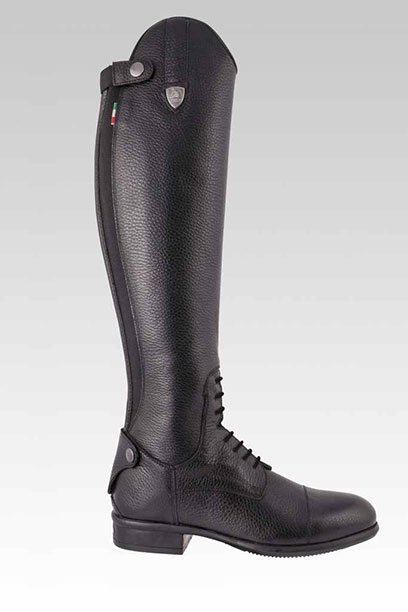 tattini breton black top boot right side 1