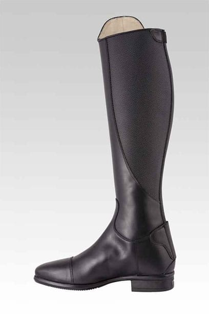 tattini terranova black top horse riding boots left side 1