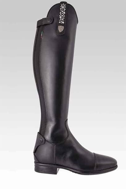tattini terranova black top horse riding boots right side 1
