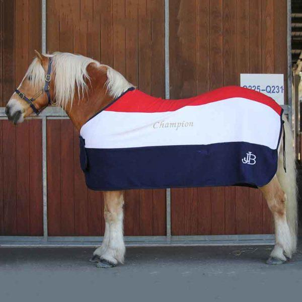 trophy horse rug tri colour left side jojubi saddlery 800