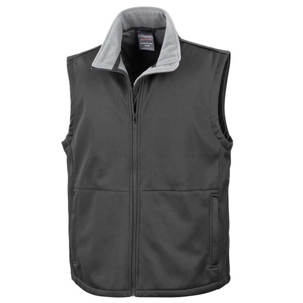 soft shell vest black front side jojubi saddlery 800