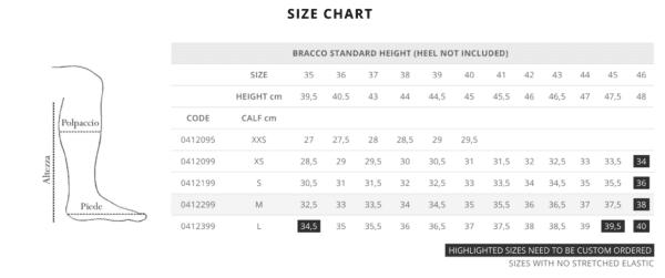 bracco size chart