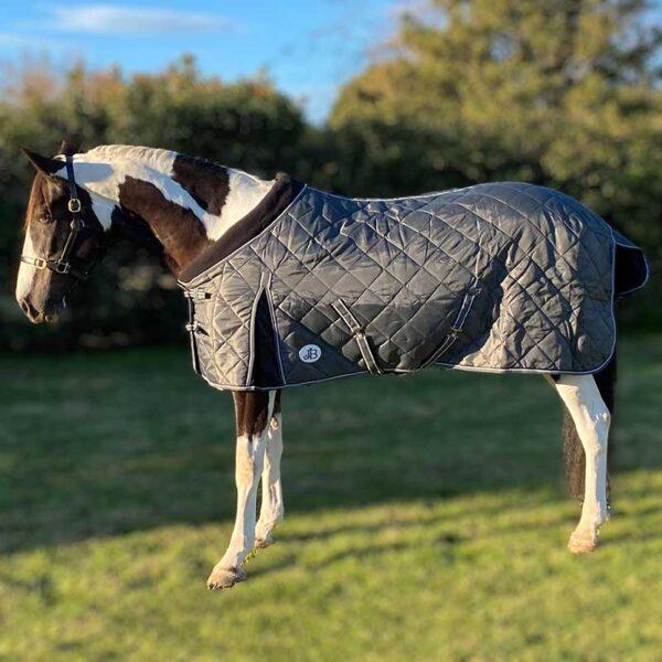 stable horse doona grey left side blur jojubi saddlery 800
