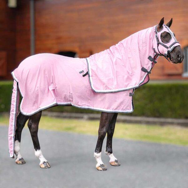 show set horse rug pink right side 2 jojubi saddlery 800